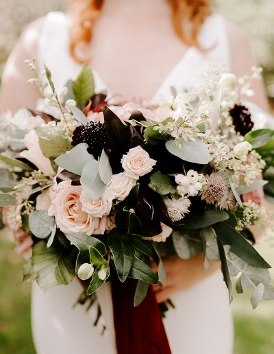 fine art wedding bouquet flourish and grace bristol wedding florist