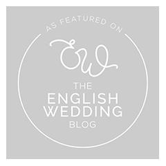 english wedding blog badge