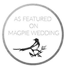 Magpie Wedding badge