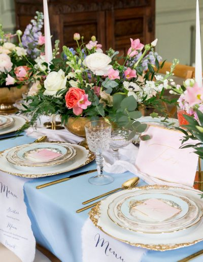 Flourish and Grace wedding table flowers