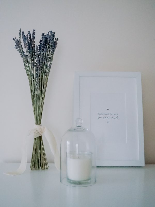 Dried lavender bunch by Flourish and Grace