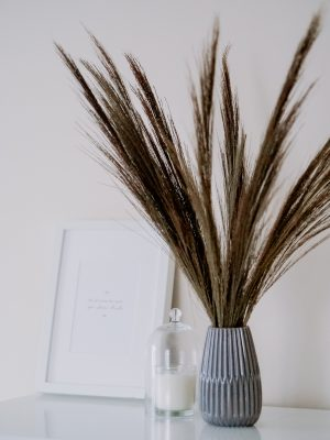 Natural broom grass bunch by Flourish and Grace